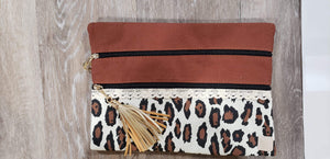 Make-up Bag Brown/Leopard The Versi Bag