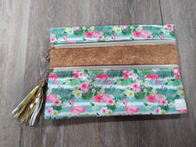 Make-up Bag Cork/Floral The Versi Bag