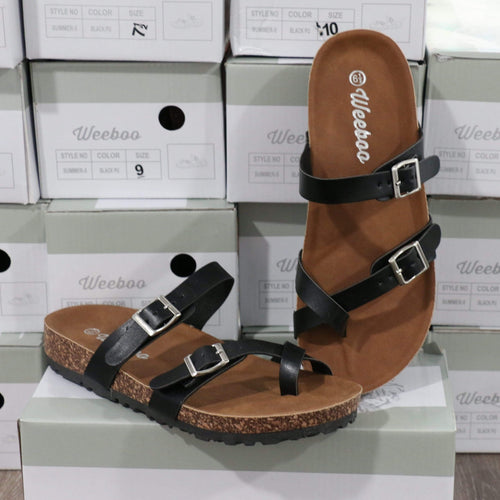 Shoes Black Sandal