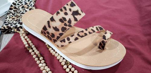 Shoes Leopard Sandal