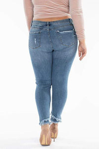 Skinny Kancan mid Rise Ankle Skinny Restocked - Plus Size Available