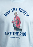 "Bill Murray ""Buy The Ticket, Take the Ride"" Hunter S. Thompson T-shirt"