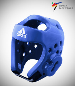 ADIDAS NEW TAEKWONDO DELUXE HEADGEAR BLUE