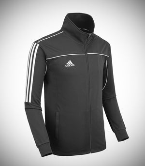 ADIDAS KNITTED TEAM JACKET BLACK/WHITE