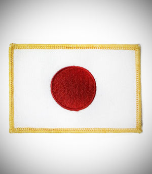 JAPAN FLAG SEW ON PATCH