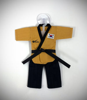MUDO MINI POOMSAE UNIFORM SUCTION CUP