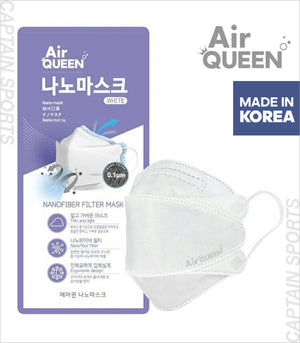 Air Queen™ Nano Mask Nano Fiber Tech Mask White
