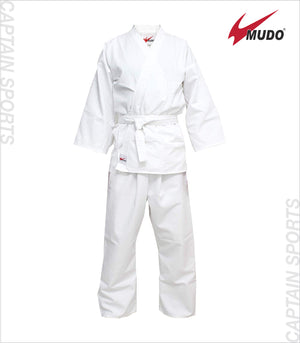 MUDO KARATE GI WHITE LIGHT WEIGHT