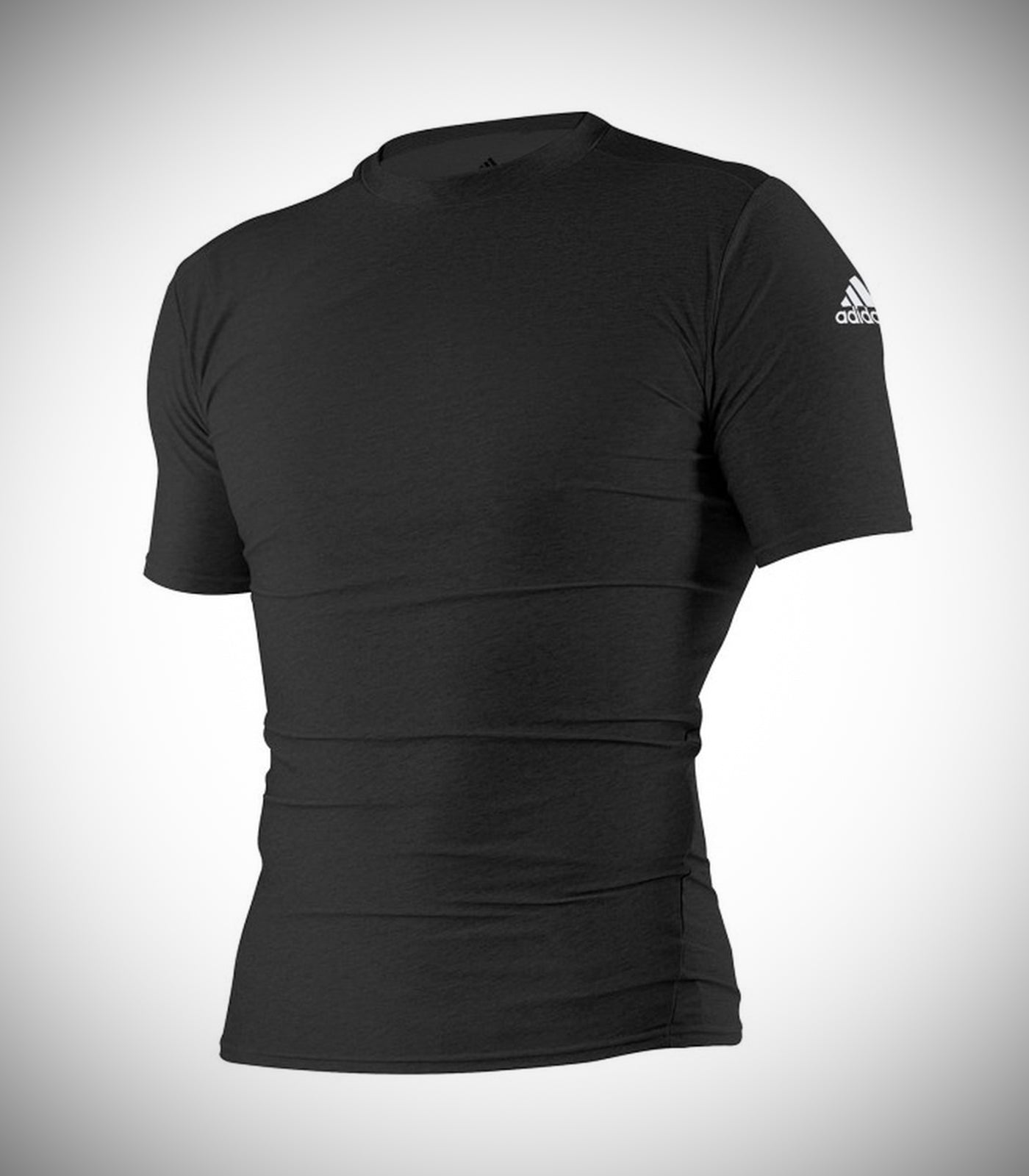 ADIDAS RASH GUARD BLACK