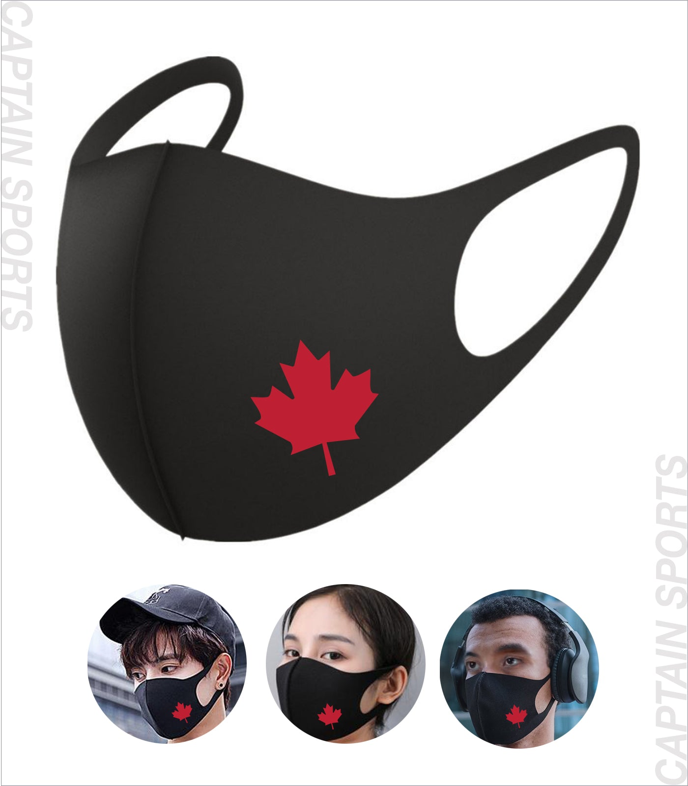 CANADA MASK 5 PACK