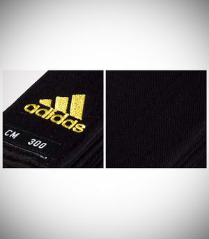 ADIDAS DELUXE BLACK BELT 5CM WIDE