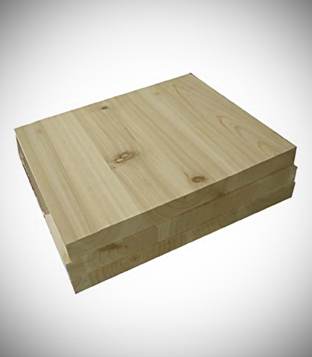 PINE WOOD BREAKING BOARD (BOX)