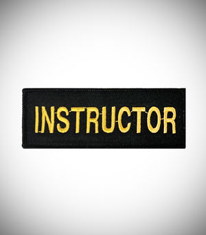 INSTRUCTOR SEW ON PATCH
