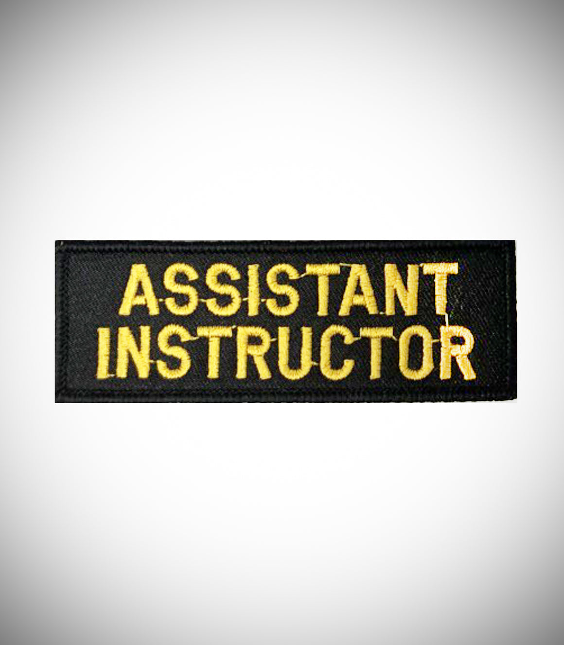 ASSISTANT INSTRUCTOR SEW ON PATCH