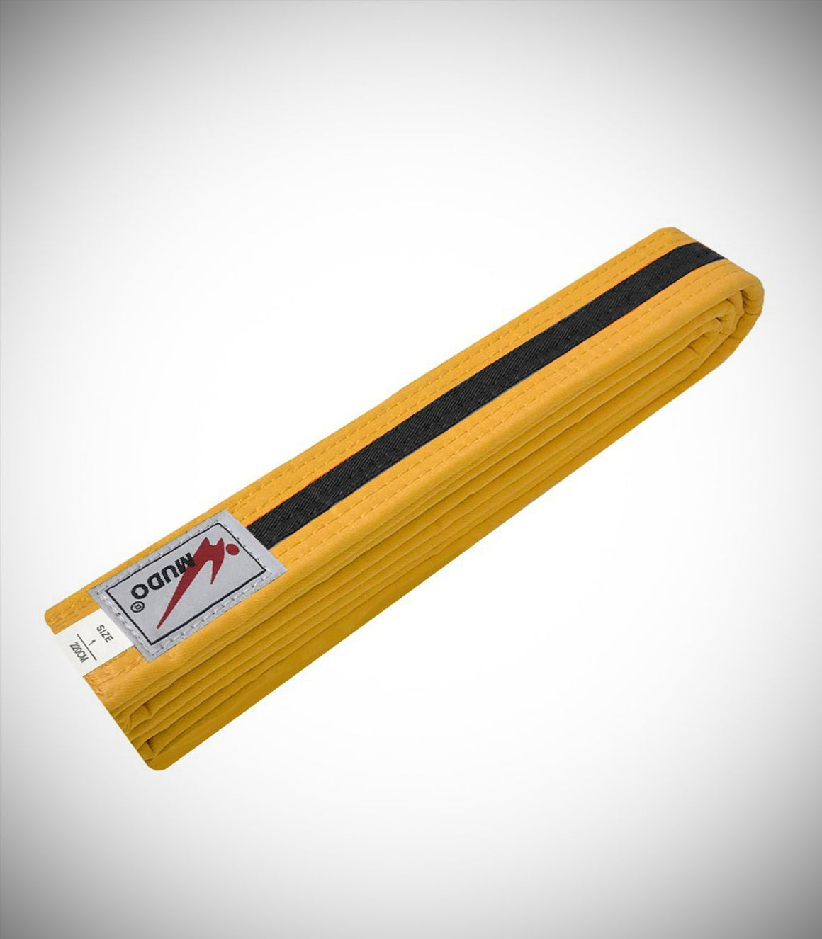 MUDO COLOR BLACK STRIPE BELT