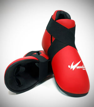 MUDO SEMI CONTACT BOOTS RED