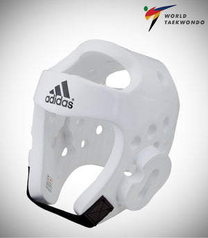 ADIDAS NEW TAEKWONDO DELUXE HEADGEAR WHITE