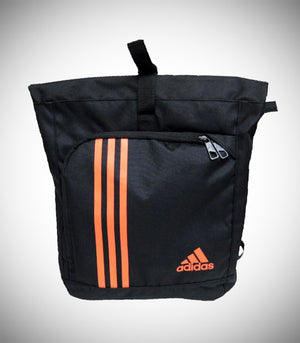 ADIDAS TRAINING MILITARY SACK BLACK SOLAR ORANGE