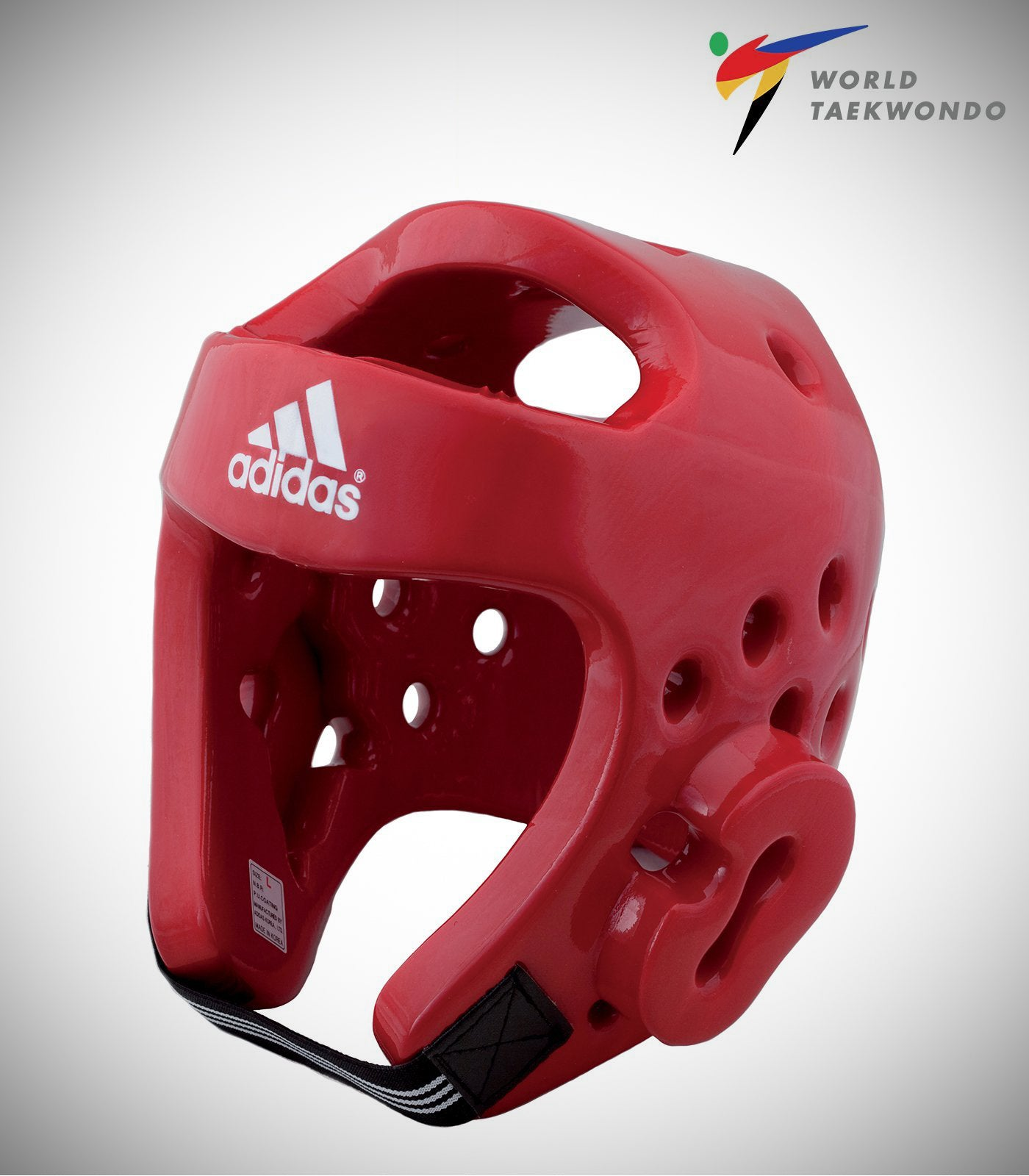 ADIDAS NEW TAEKWONDO DELUXE HEADGEAR RED
