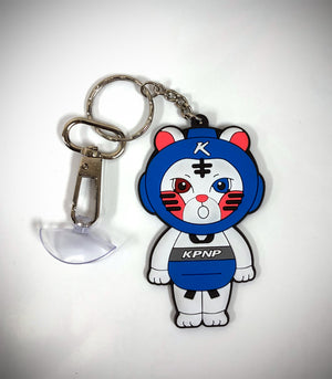 KPNP KITTEN KEYRING WITH SUCTION CUP