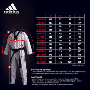 ADIDAS NEW POOMSAE ADULT FEMALE UNIFORM