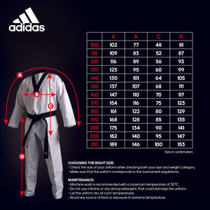 ADIDAS FIGHTER 3 STRIPE UNIFORM