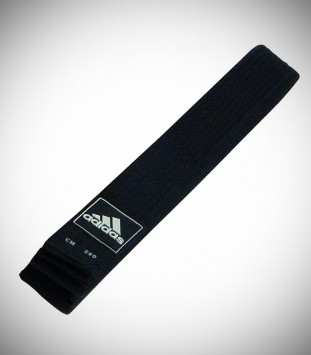 ADIDAS BLACK BELT 4.3CM WIDE