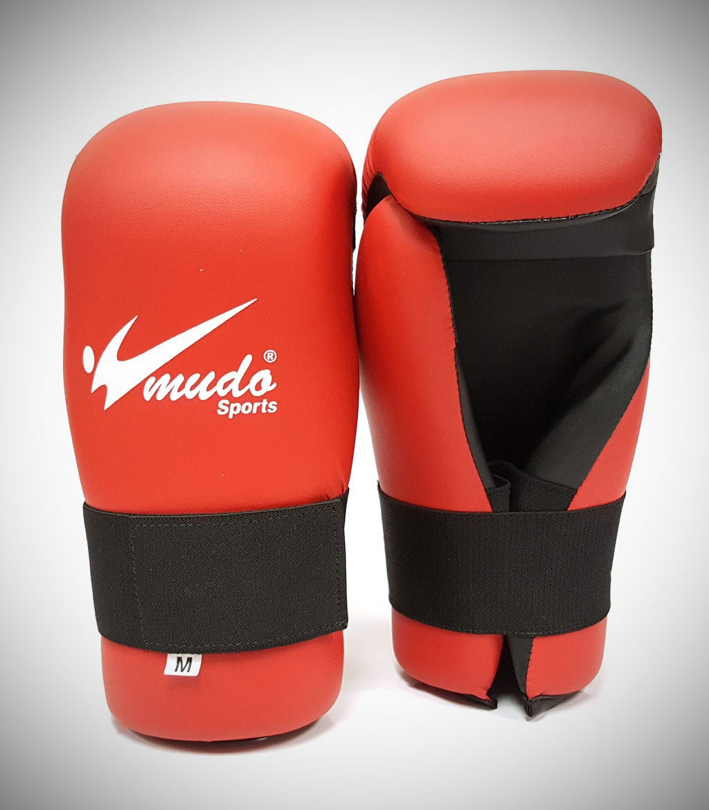MUDO SEMI CONTACT GLOVES RED