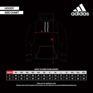 ADIDAS TAEKWONDO HOODIE HEATHER GREY/BLACK