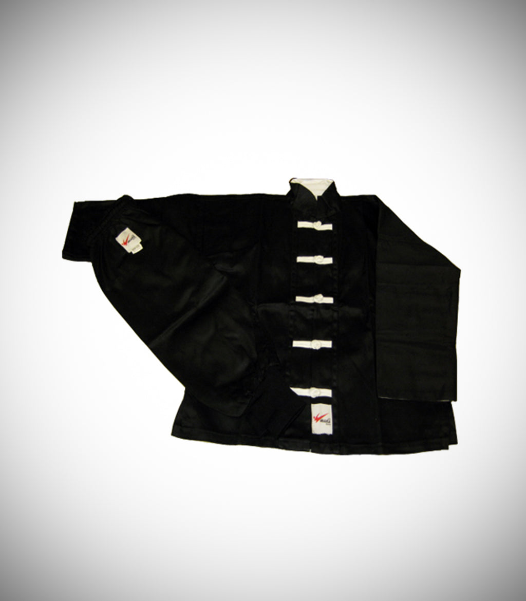 MUDO KUNG FU UNIFORM BLACK/WHITE