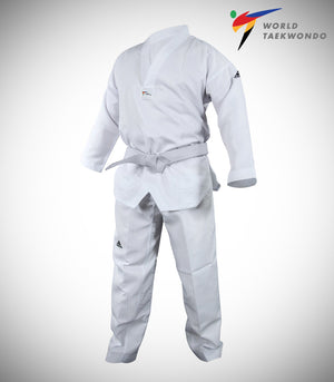 ADIDAS ADI-START-P WHITE TAEKWONDO UNIFORM