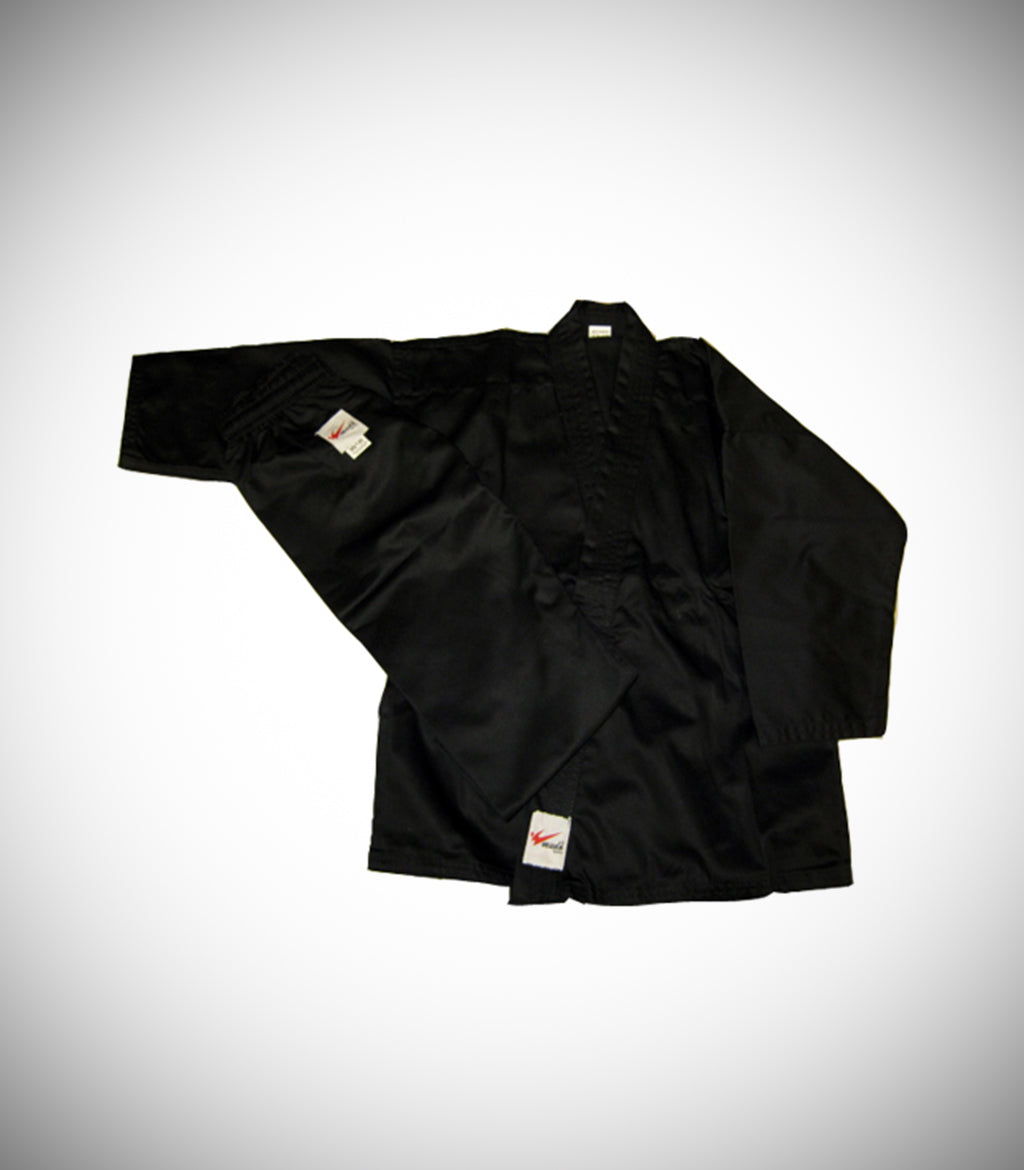 MUDO KARATE GI BLACK LIGHT WEIGHT
