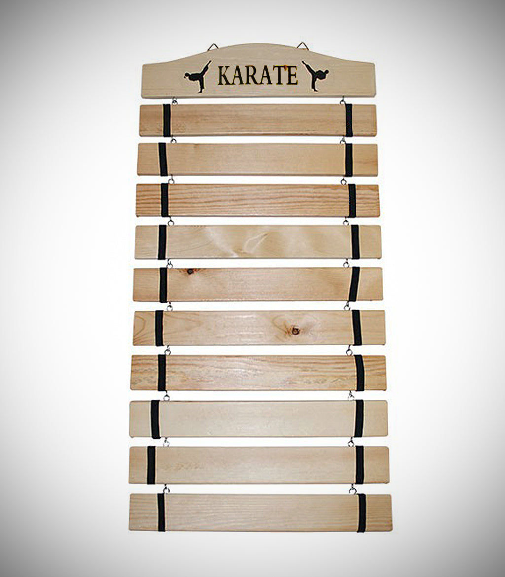 MUDO KARATE BELT RACK