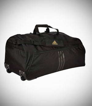 "ADIDAS TROLLEY ""TAEKWONDO"" BLACK/GOLD NYLON"