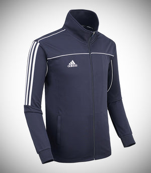 ADIDAS KNITTED TEAM JACKET NAVY/WHITE