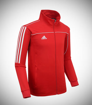 ADIDAS KNITTED TEAM JACKET RED/WHITE
