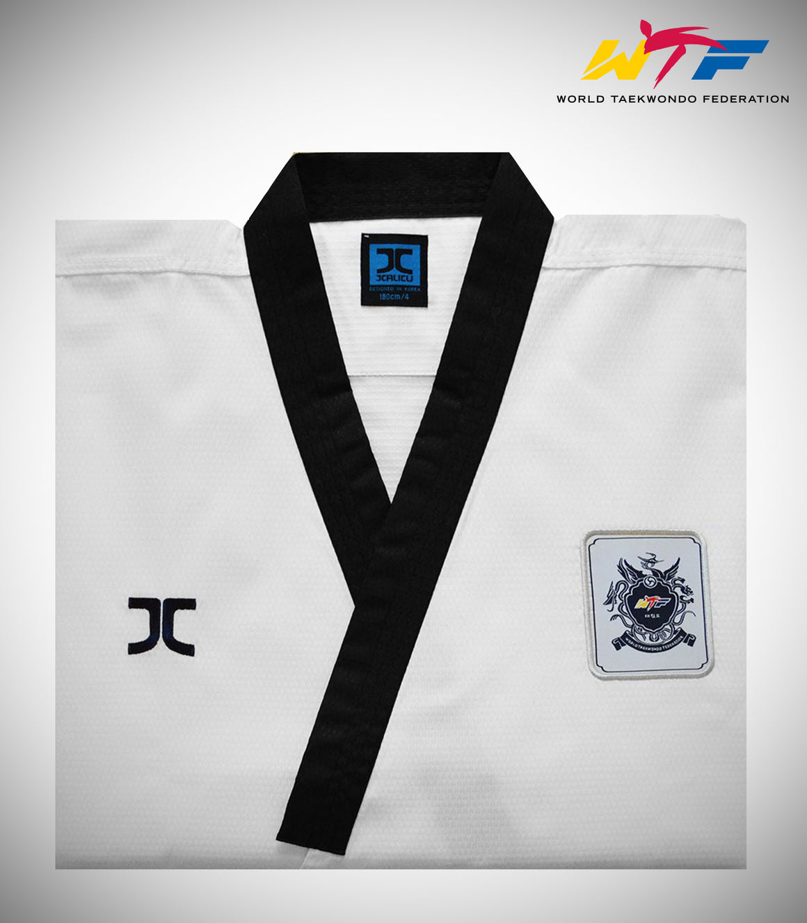 JC ADULT MALE POOMSAE DIAMOND UNIFORM