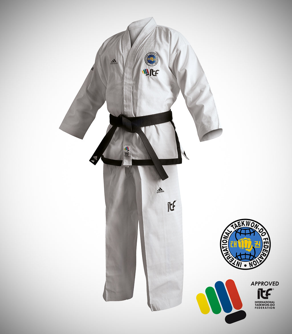 ADIDAS ITF BLACK BELT CHAMPION