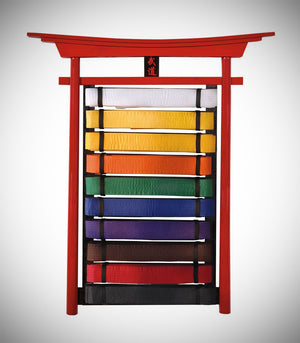 BUDO WALL MOUNTABLE BELT DISPLAYS - 10 LEVEL