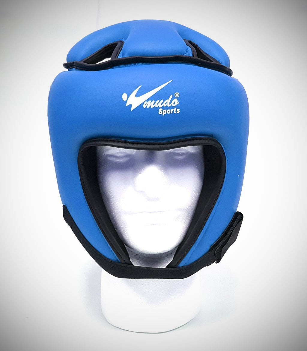 MUDO SEMI CONTACT HEADGEAR BLUE