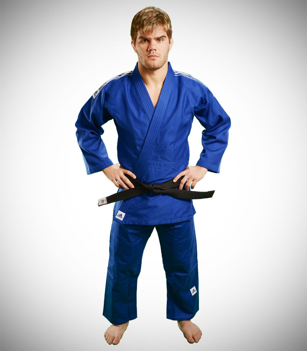 ADIDAS JUDO GI J500 TRAINING BLUE