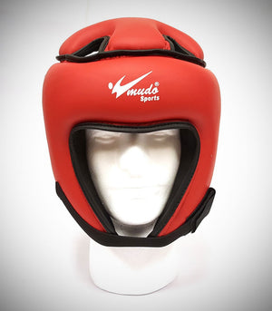 MUDO SEMI CONTACT HEADGEAR RED