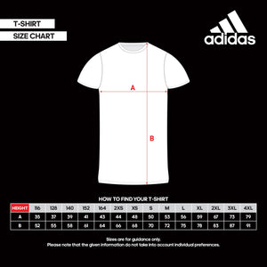 ADIDAS TAEKWONDO T-SHIRT HEATHER GREY/SOLAR BLUE