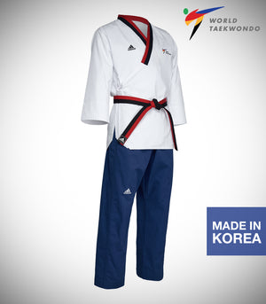 ADIDAS NEW POOMSAE YOUTH MALE UNIFORM