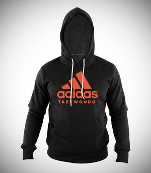 ADIDAS TAEKWONDO HOODIE BLACK/ORANGE