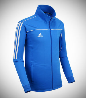ADIDAS KNITTED TEAM JACKET BLUE/WHITE