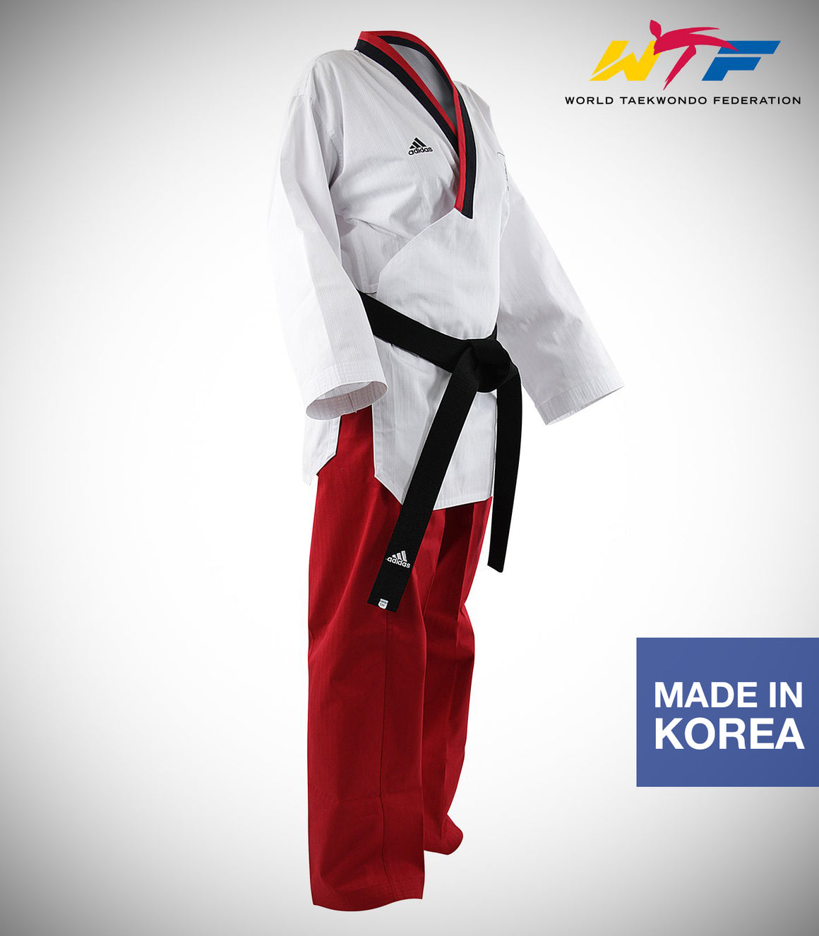 ADIDAS POOMSAE YOUTH FEMALE UNIFORM