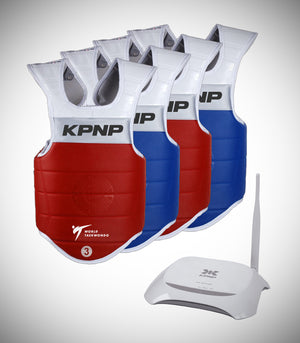 KPNP 4 E-CHEST GUARD 1 RECEIVER SET