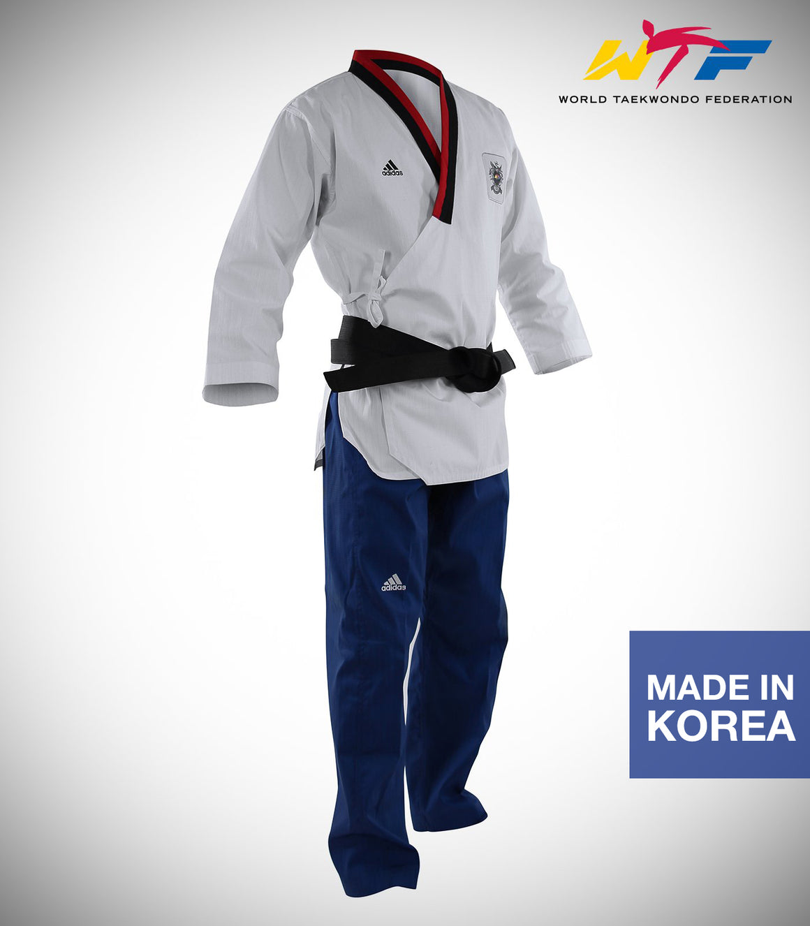 ADIDAS POOMSAE YOUTH MALE UNIFORM