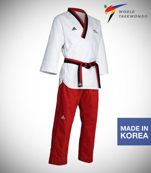 ADIDAS NEW POOMSAE YOUTH FEMALE UNIFORM